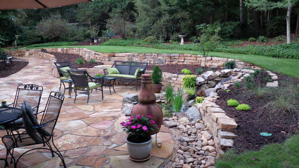 Lanscapers Greenville SC Landscape Stone Paver Concrete Hardscapes Water