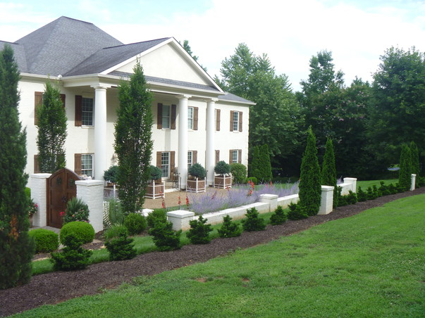 Planting Around Your House : There are many ways to define the property around your home here we